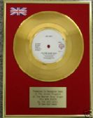 "BEE GEES  24 Carat Gold 7"" Disc - YOU WIN AGAIN"